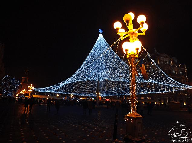 piata victoriei timisoara iarna 2014