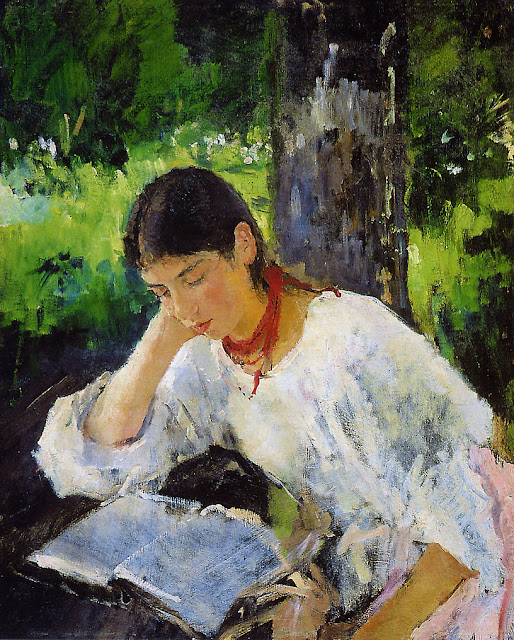 Valentin Serov - Portrait of Alexandra Simonovich