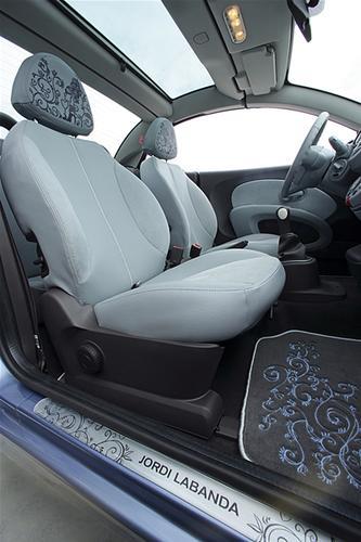 Interior del Nissan Micra Edición Jordi Labanda (2006)