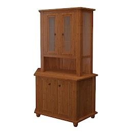lotus corner cabinet