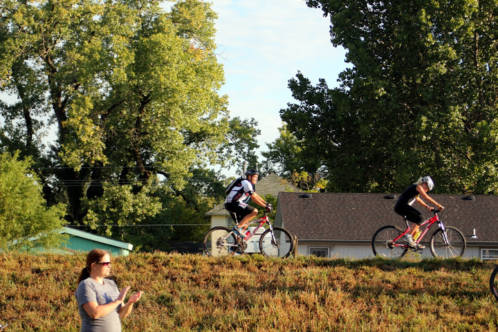 Rusty Biking at the Wakarusa Challenge