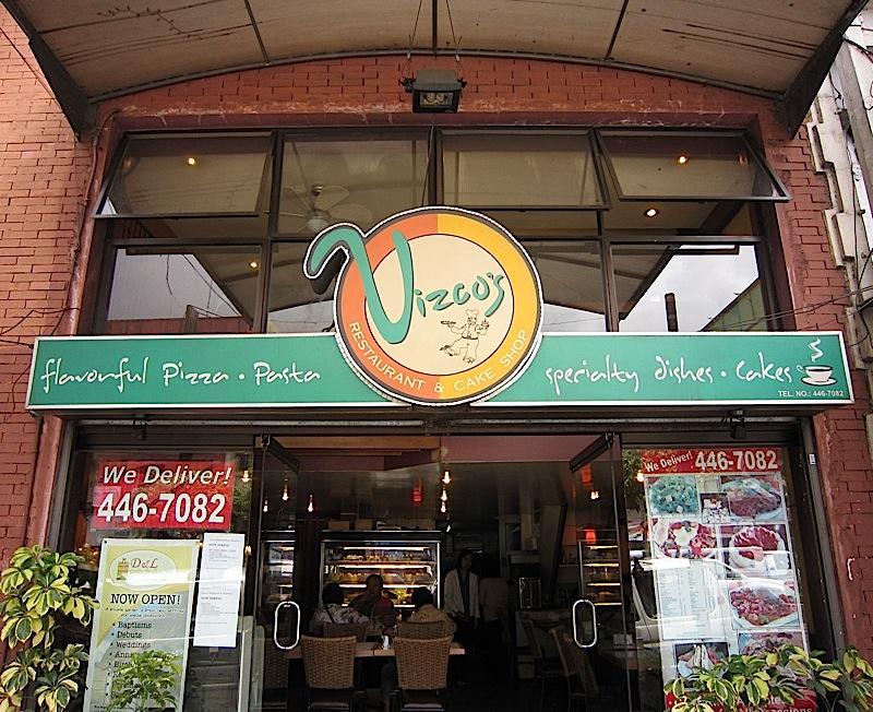 Vizco's Restaurant and Cake Shop in Baguio City