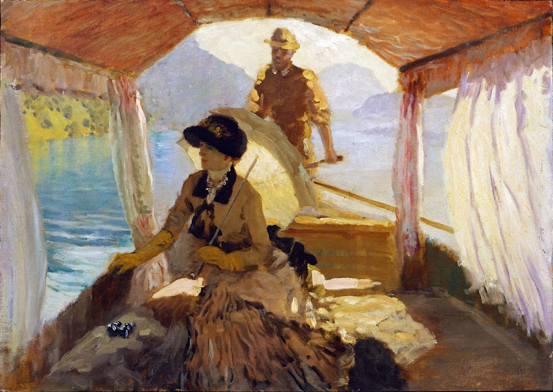 Giuseppe De Nittis - Lake of the Four Cantons