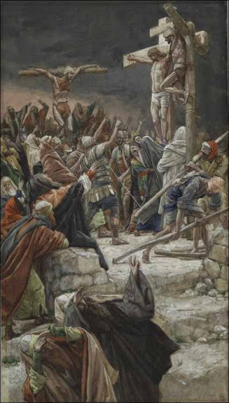 Pardon of the Repentant Thief - by James Tissot (1836-1902)