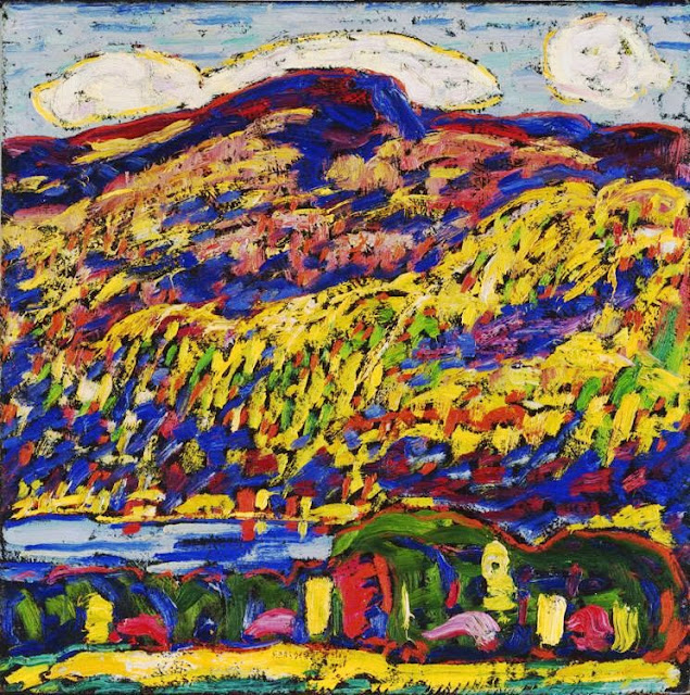 Marsden Hartley - Mountain Lake Autumn