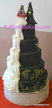 Wedding Cake Stand 44 Fancy Black and white modern