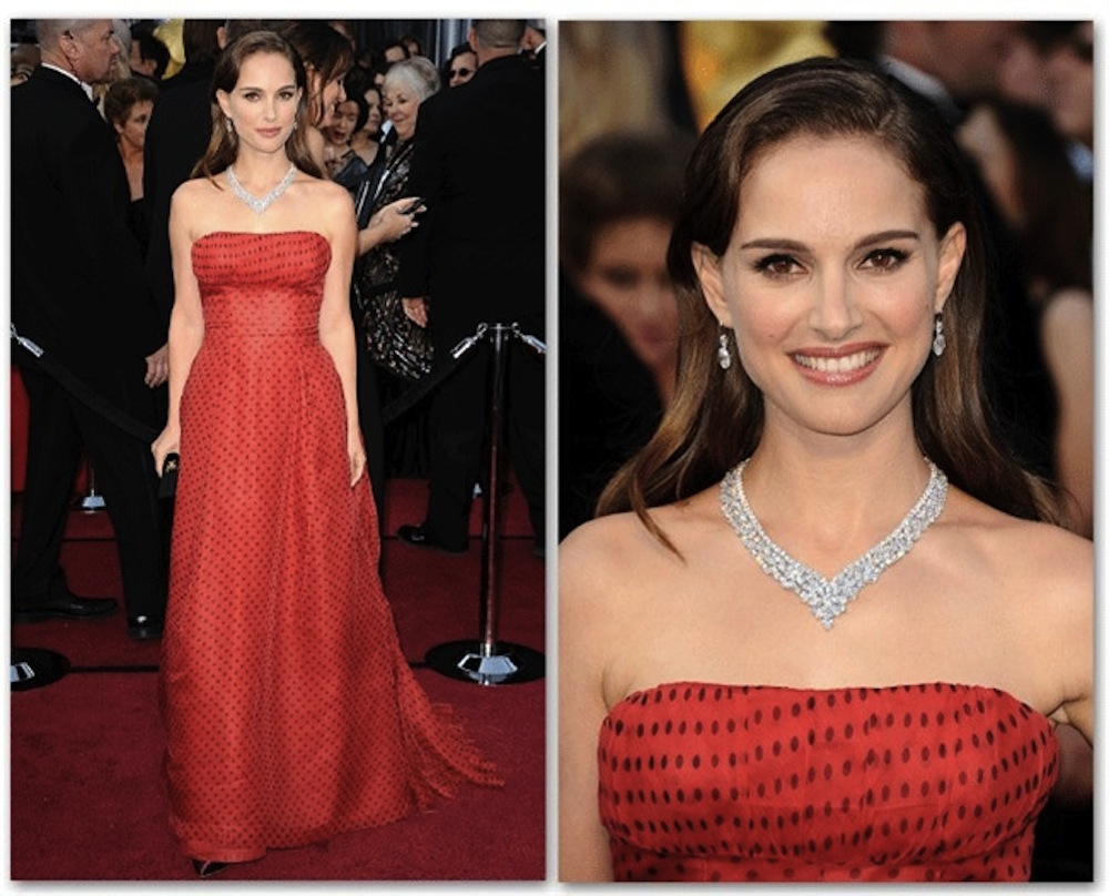 Vintage on the Red Carpet [Natalie Portman]