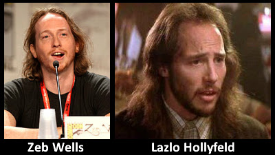 Separated at Birth? Zeb Wells & Lazlo Hollyfeld