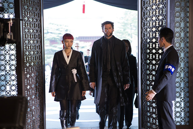 The Wolverine Yukio & Logan arrive at Shingen Yashida's funeral