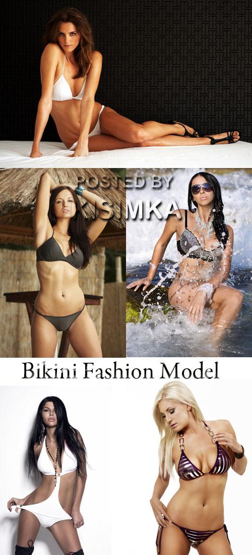 Stock Photo: Bikini Fashion Model