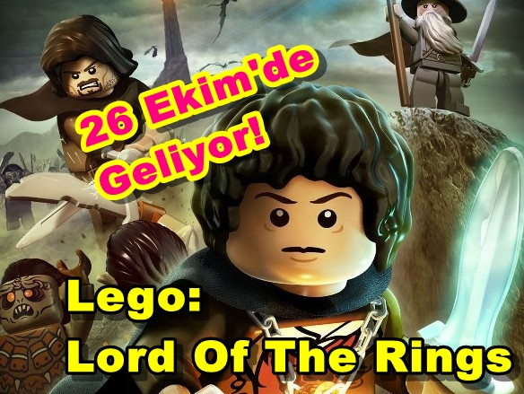 Lego: Lord Of The Rings 26 Ekim'de Geliyor!