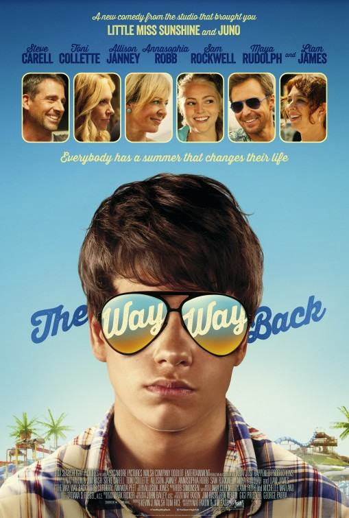 Poster Of English Movie The Way Way Back (2013) Free Download Full New Hollywood Movie Watch Online At alldownloads4u.com
