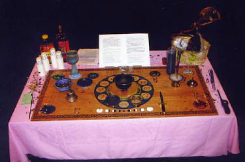 Altar Consecration And Dedication Ritual