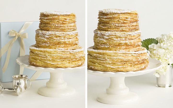 Nüage Mulberry Digital Art: A Crêpe Wedding Cake?