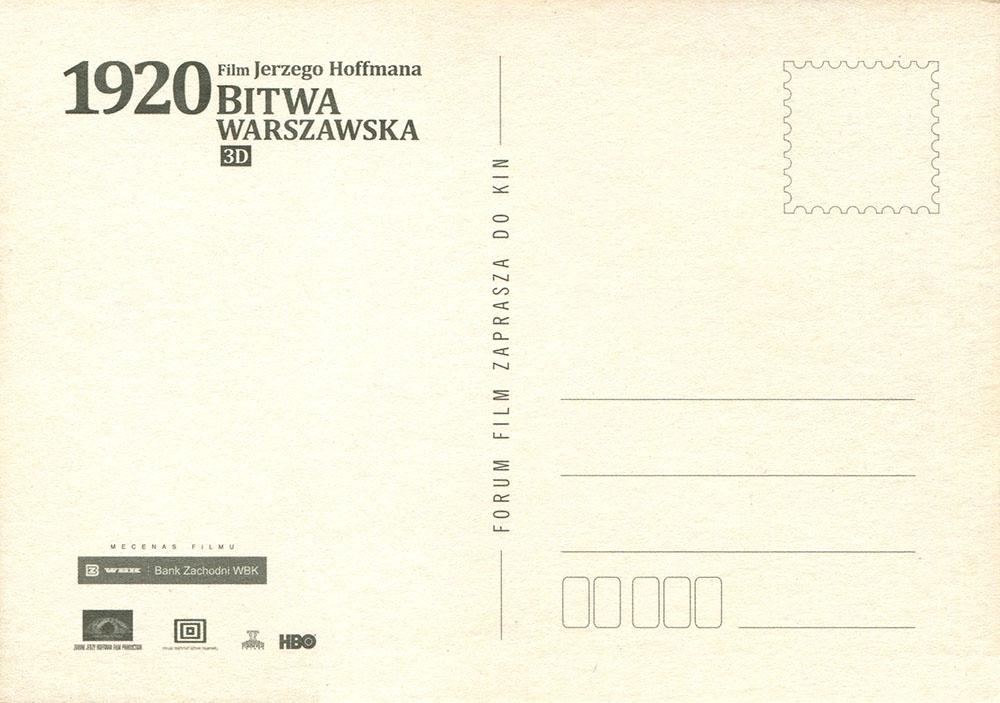 Ulotka filmu '1920 Bitwa Warszawska (tył - wersja C)'