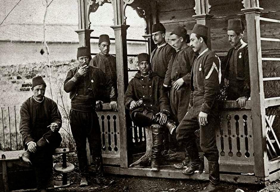 Турецкие офицеры