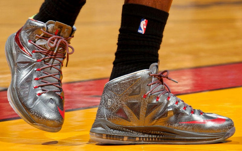 Nike LeBron X – Chrome / Prism – Player Exclusive | NIKE ...