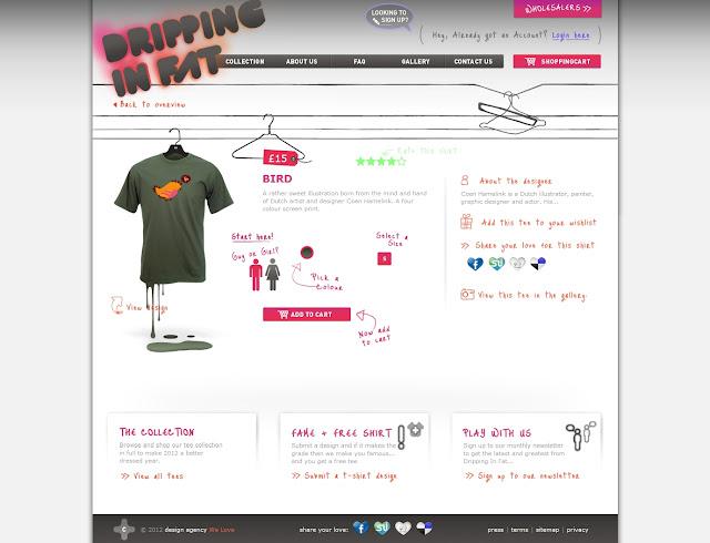 *宛如身歷其境的服飾購物網|Dripping In Fat Web Site 4