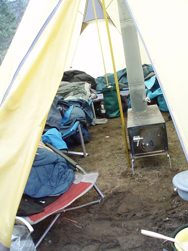 ... but we always have a wood stove for winter boating multiday. You can sit in a t-shirt and actually dry stuff out in a hurry in a  hot tent  / wall tent. : wood stove in tent - memphite.com