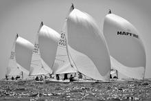 J/80s sailing Palma Majorca, Spain