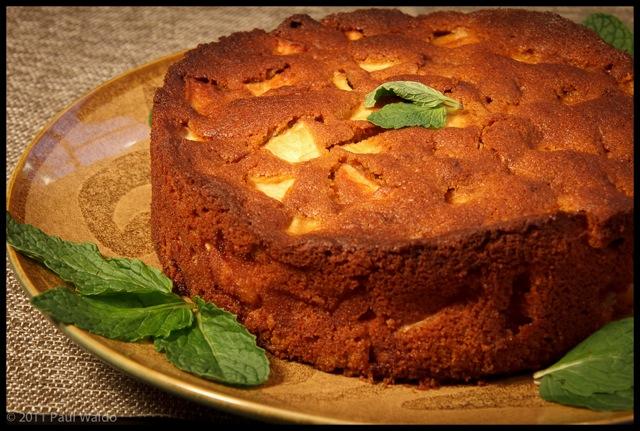 Marie-Helene's Apple Cake (Sans Grain, Sans Nuts)