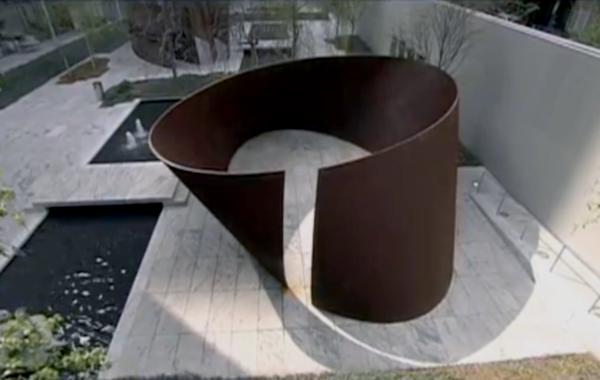 Torqued Ellipses Richard Serra Richard Serra Torqued Ellipse