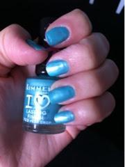 Rimmel Pear Drop nail polish varnish