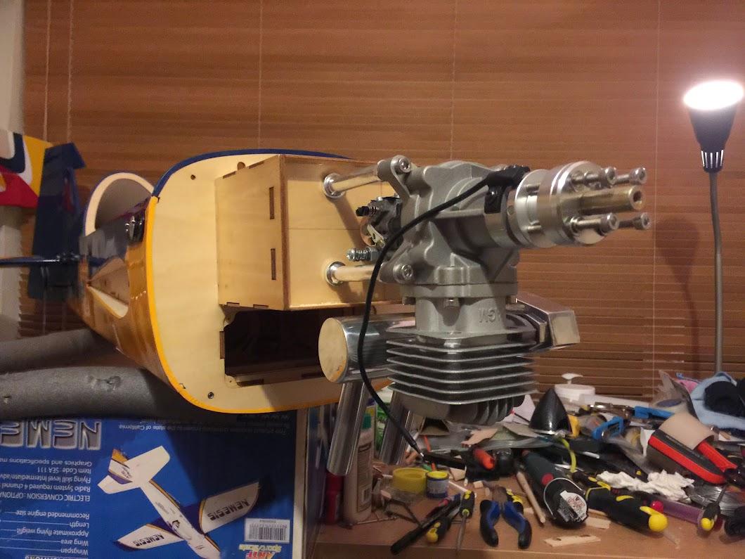 AGM30 engine installation