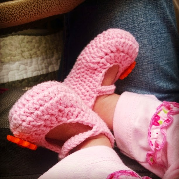kasut gedik merah jambu
