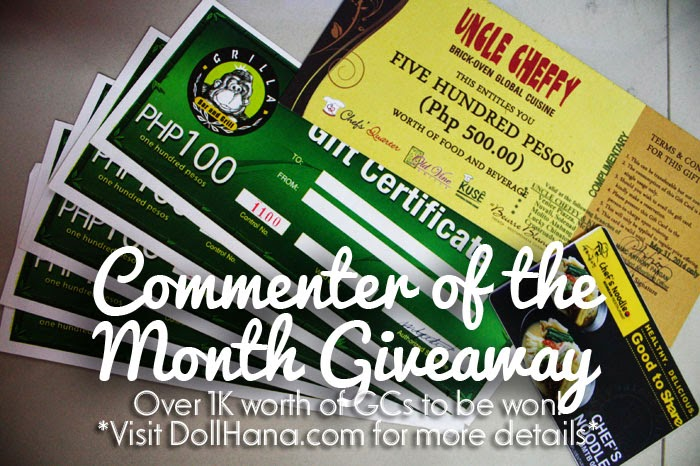 IMG 6743 April Commenter of the Month Giveaway