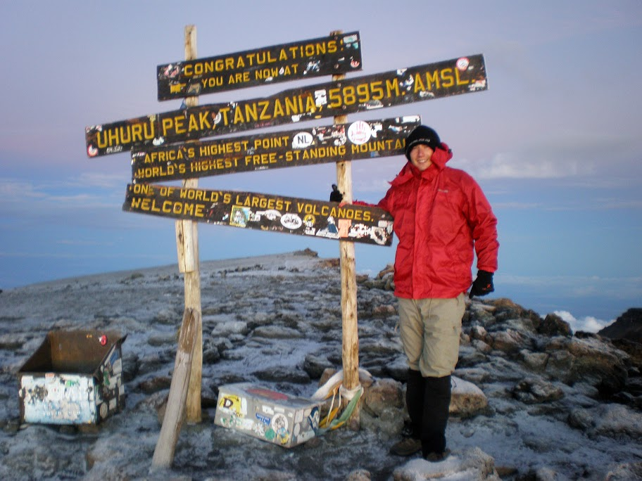 Kilimanjaro - Day 6 - Summit Day! - Made it to the summit!