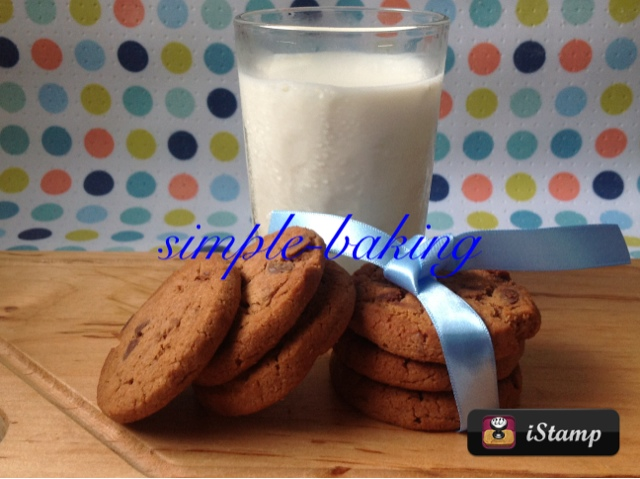 nigella's chocolate chip cookies