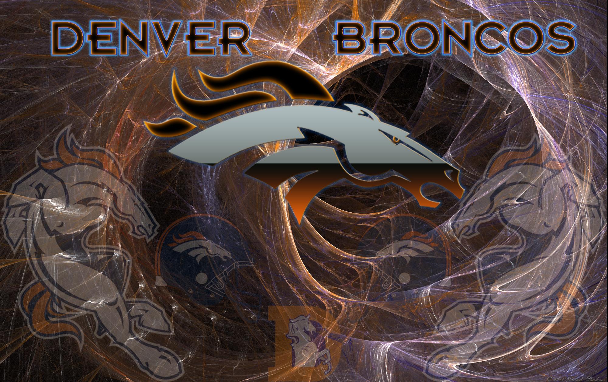 Wallpapers by wicked shadows denver broncos wild wallpaper - Denver broncos background ...