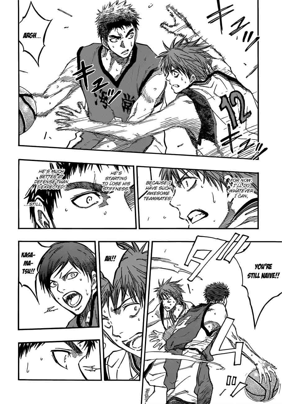 Kuroko no Basket Manga Chapter 187 - Image 10