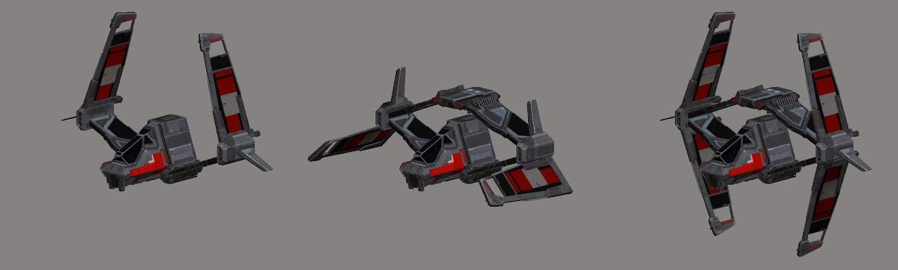 Imperial Strike Fighter Pattern