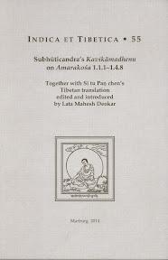 [Deokar: Subhūticandra's Kavikāmadhenu on Amarakośa, 2014]