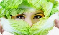 маска из капусты