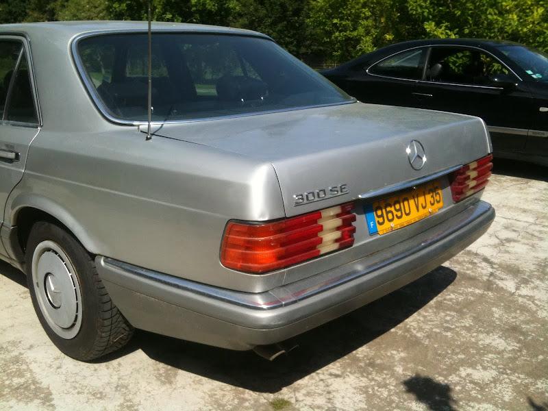 La W126 300SE de 89 de Ghia Photo%2525205