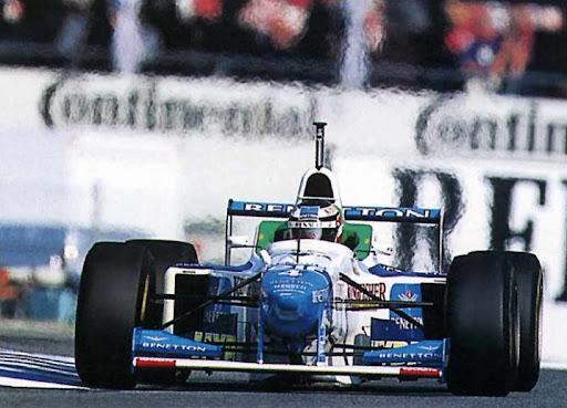 Benetton, equipe histórica da Formula 1 de 1996 - by portalsportszone.com.br