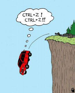 CTRL + Z (Undo)