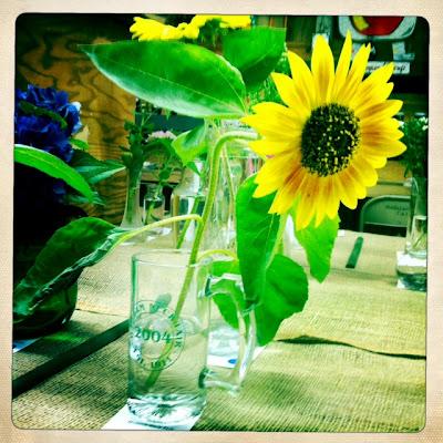 Fair Sunflower by E. Howard