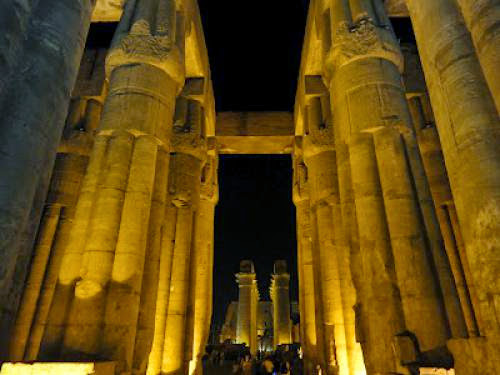 Court Of Ramses Ii Luxor Temple
