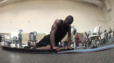 Dwyane Wade Hip Stretch