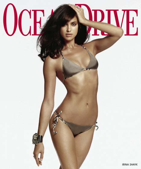 Irina Shayk Gets Ridiculously Sexy For Ocean Drive:bitch,sex0