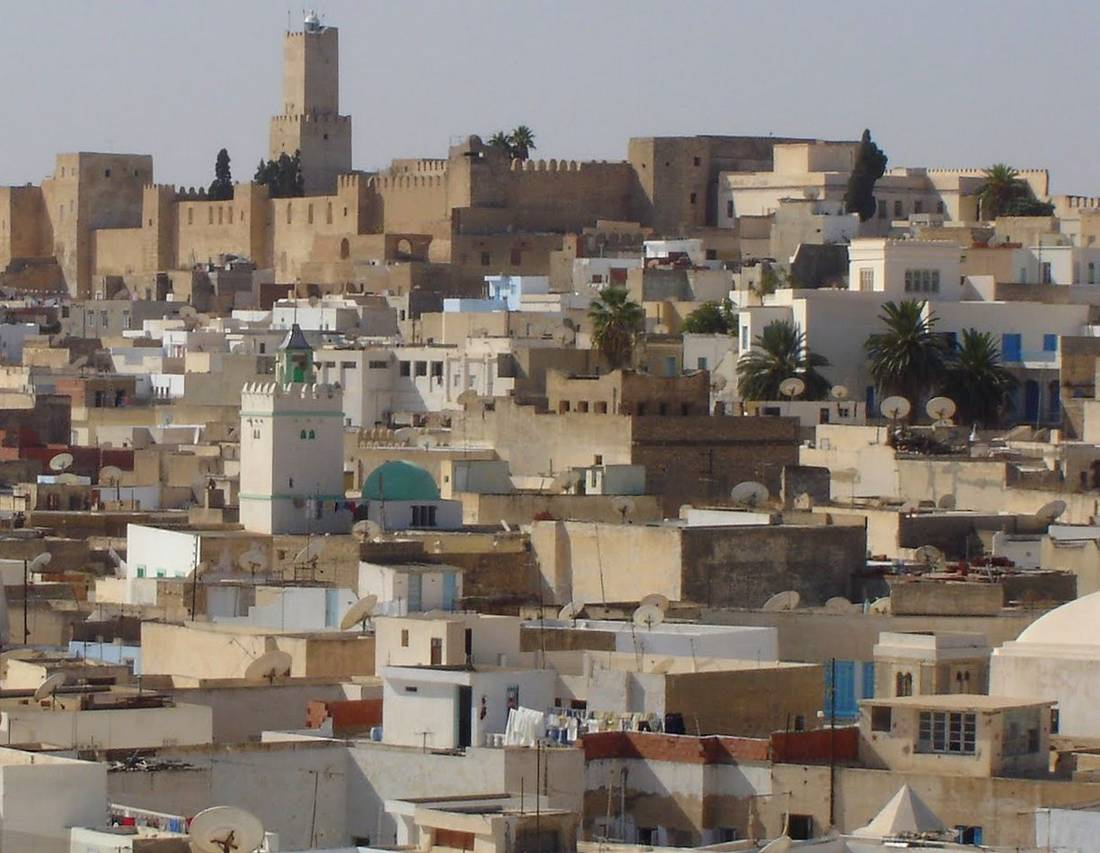 Тунис, Медина, достопримечательности в Суссе