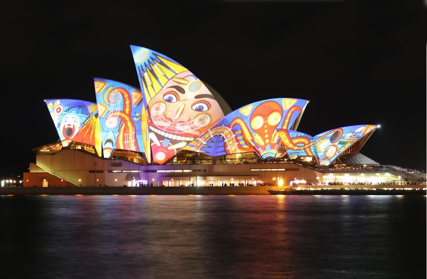 Sydney Opera house, the place for performing arts center
