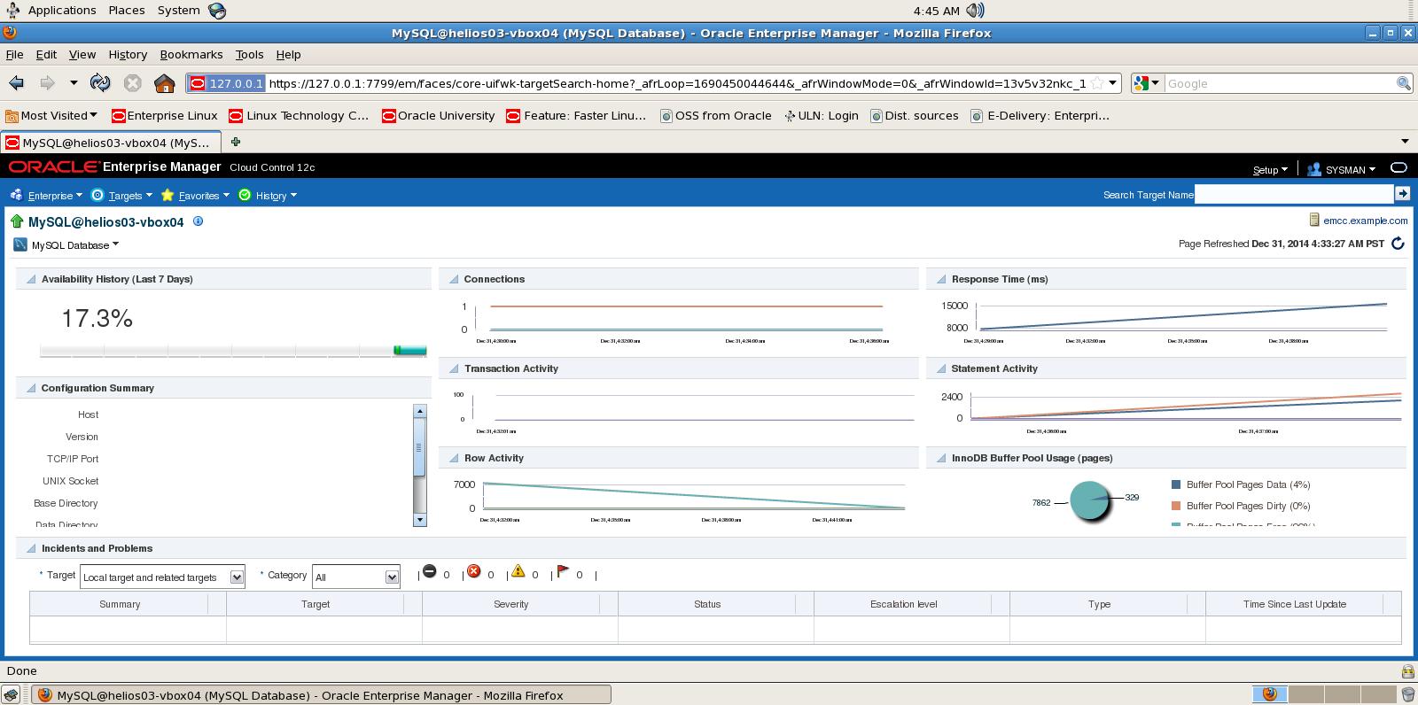 MySQL Plugin for Oracle Enterprise Manager on VirtualBox ...