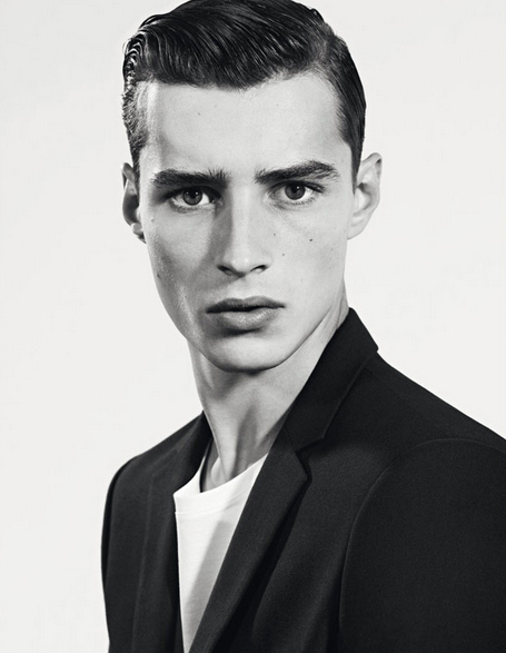 Adrien Sahores @ Ford by Karim Sadli for De Fursac S/S 2012 campaign