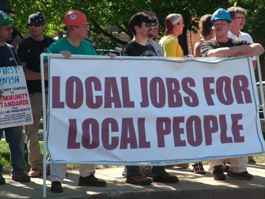 Local jobs index