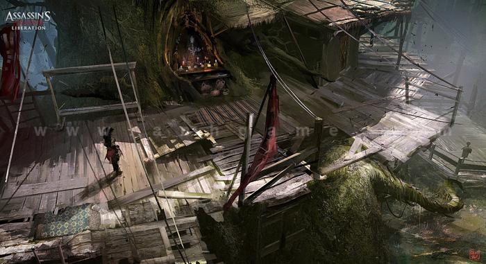 Hình nguyên họa cực chất của Assassin Creed III